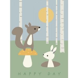 FRANCK & FISCHER Poster Happy Day - Holzspielzeug Profi