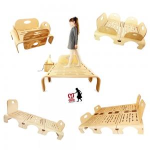 Flowerssori das mitwachsende Bett - Holzspielzeug Profi