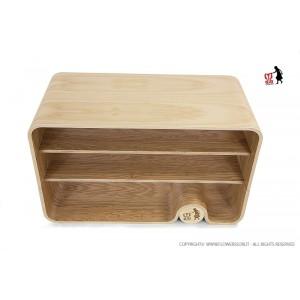 Flowerssori Bücherregal Cat 0 mit Rückwand - Holzspielzeug Profi