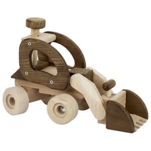 Radlader von goki nature - Holzspielzeug Profi