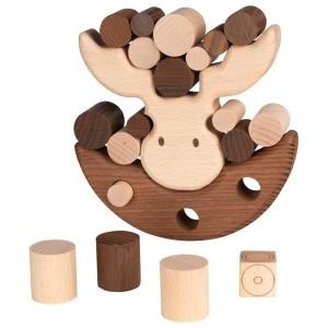Balancierspiel Elch von goki nature  - Holzspielzeug Profi