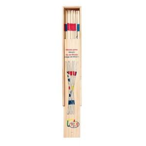 Mikado-Spiel von goki, 28 cm Länge in Holzbox - Holzspielzeug Profi