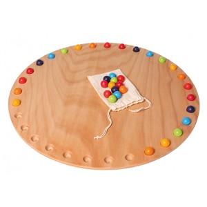 GRIMM´S Tageskreisscheibe - Holzspielzeug Profi