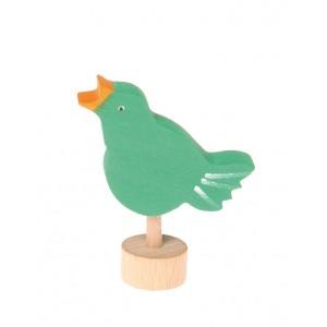 GRIMM´S Stecker singender Vogel - Holzspielzeug Profi