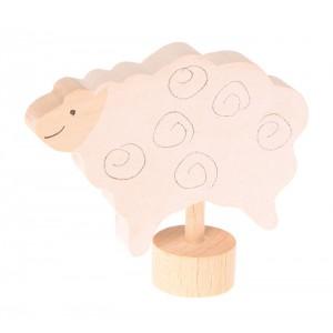GRIMM´S Stecker stehendes Schaf - Holzspielzeug Profi