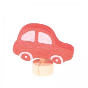 GRIMM´S Stecker Auto rot - Holzspielzeug Profi
