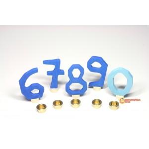 GRIMM´S Zahlenstecker 6-9 +0, blau