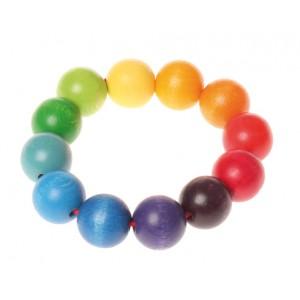 GRIMM´S Greifling Perlenring - Holzspielzeug Profi