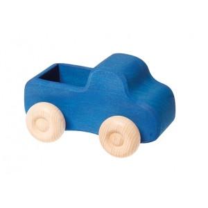 GRIMM´S Kleiner, blauer Lastwagen  - Holzspielzeug Profi