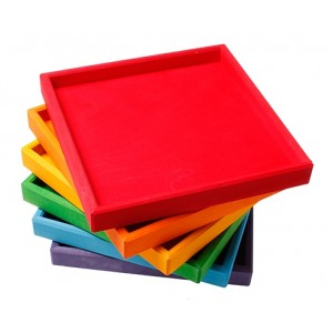 GRIMM´S Regenbogen Rahmen  - Holzspielzeug Profi