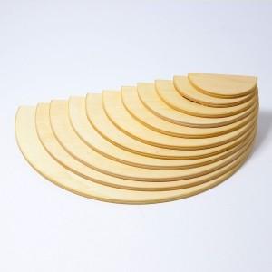 GRIMM´S Große Halbkreise natur - Holzspielzeug Profi