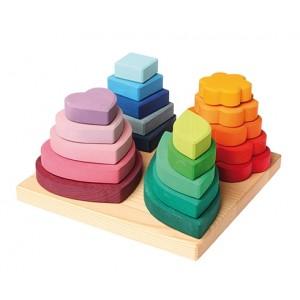 Grimm´s Steckspiel Formen - Holzspielzeug Profi
