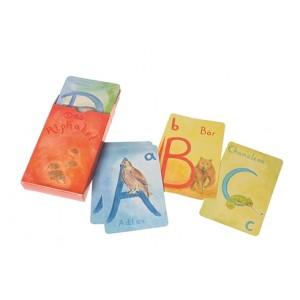 GRIMM´S Alphabet Kartenspiel - Holzspielzeug Profi