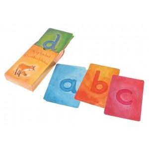 GRIMM´S Alphabet Kartenspiel Kleinbuchstaben - Holzspielzeug Profi