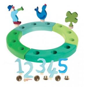 GRIMM´S Geburtstagsdeko Kleiner RIng Ozean - Holzspielzeug Profi