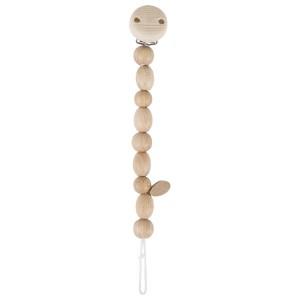 Heimess nature Schnullerkette Perlen - Holzspielzeug Profi