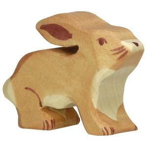 HOLZTIGER Kleiner Hase - Holzspielzeug Profi