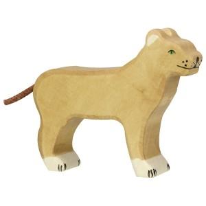 Holztiger Löwin - Holzspielzeug Profi
