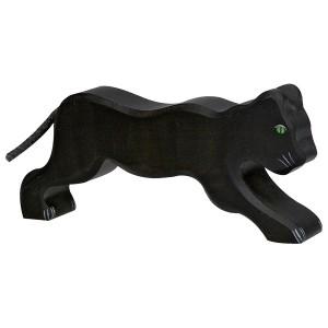 Holztiger Schwarzer Panther- Holzspielzeug Profi