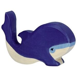 Holztiger Kleiner Blauwal - Holzspielzeug Profi
