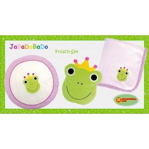 JaBaDaBaDo Baby-Set: Frosch - Holzspielzeug Profi