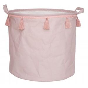 JaBaDaBaDo Stoffkorb Dusty Pink rosa - Holzspielzeug Profi