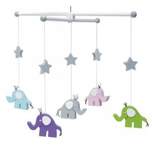 JaBaDaBaDo Mobile Elefant - Holzspielzeug Profi