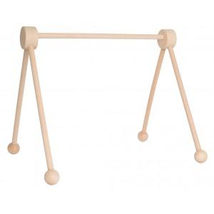 JaBaDaBaDo Baby Spieltrapez aus Holz natur - Holzspielzeug Profi