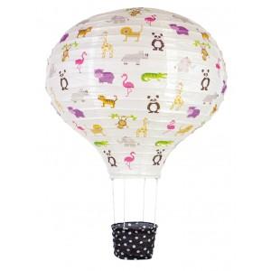 JaBaDaBaDo Papierlampenschirm Ballon Safari - Holzspielzeug Profi