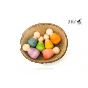 Grapat 6 Baby Nins®  - Holzspielzeug Profi