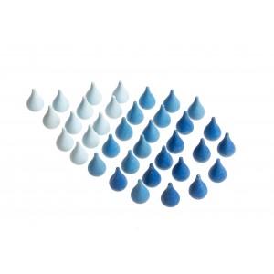 Grapat Mandala Regentropfen Raindrops - Holzspielzeug Profi