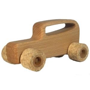 Leif Holzauto Silent Roller Hot Rod - Holzspielzeug Profi