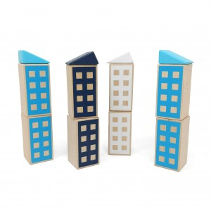 Lubulona Happy Houses Sky - Holzspielzeug Profi