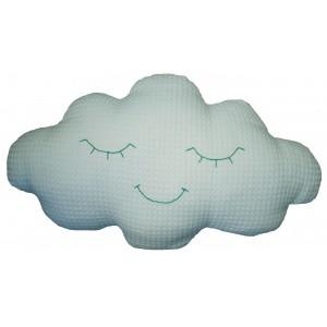 Deko Kissen Clouds in hellblau von MOEPA - Holzspielzeug Profi