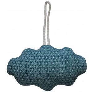 Deko Hängekissen Clouds blaue Blume von MOEPA - Holzspielzeug Profi