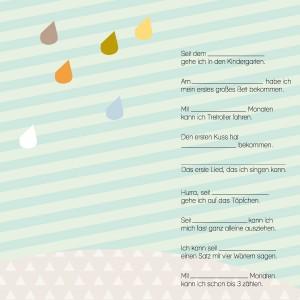 Rasmussons Messlatte / Ereignisplakat: Ereignisse 1 - Holzspielzeug Profi