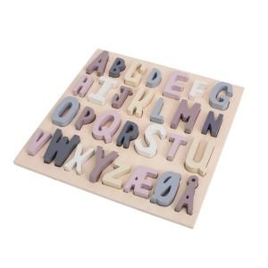 sebra Holzpuzzle ABC mitternachtspflaume - Holzspielzeug Profi