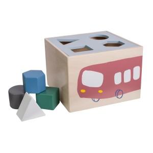 sebra Formensteckspiel Little Driver - Holzspielzeug Profi