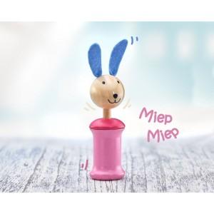 Selecta Hase Anni Quietschspielzeug: miep miep - Holzspielzeug Profi