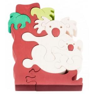 Tedefamily Puzzle Koala - Holzspielzeug Profi