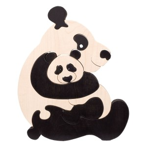 Tedefamily Puzzle Panda - Holzspielzeug Profi