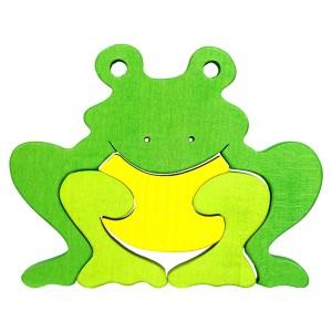 Tedefamily Puzzle Frosch - Holzspielzeug Profi