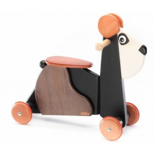 Tedefamily  Rutschtier Panda Emil - Holzspielzeug Profi
