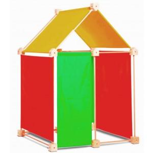 Trígonos Kernel in gelb-grün-orange - Holzspielzeug Profi