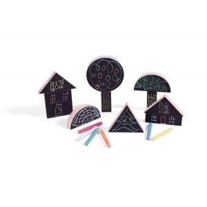 wodibow Chalking XL: Baue deine eigenen Welt - Holzspielzeug Profi