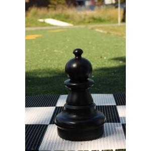 Übergames Giga Riesen Schachfigure Bauer in schwarz - Holzspielzeug Profi