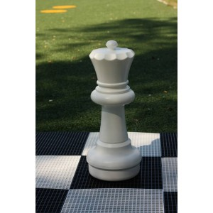 Übergames Giga Riesen Schachfigure Dame in weiß - Holzspielzeug Profi