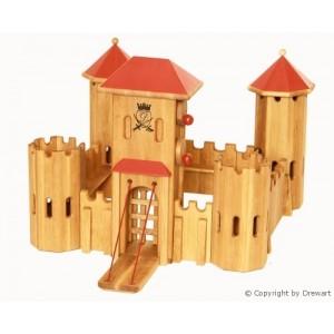 Drewart mittelgroßes Kastell - Holzspielzeug Profi