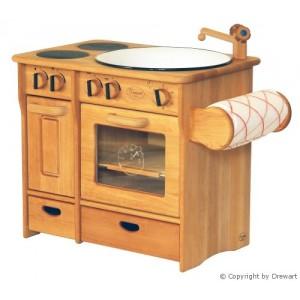 Drewart Kinderküche Kombi mit Handtuch natur