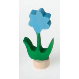 GRIMM´S Stecker Blume blau